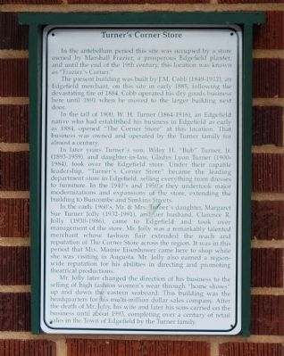 Turner's Country Store Marker image. Click for full size.