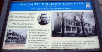 """Gallant"" Pelham's Last Days Marker image. Click for full size."