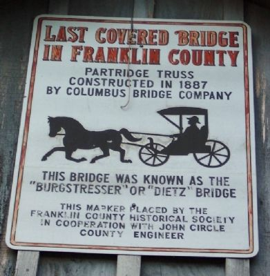 Franklin County Historical Society Marker image. Click for full size.