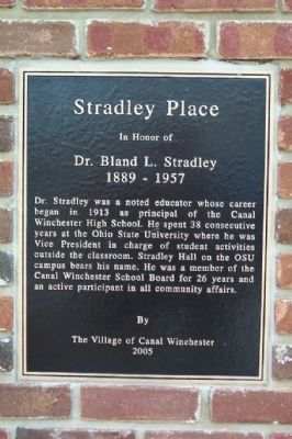 Stradley Place Marker image. Click for full size.