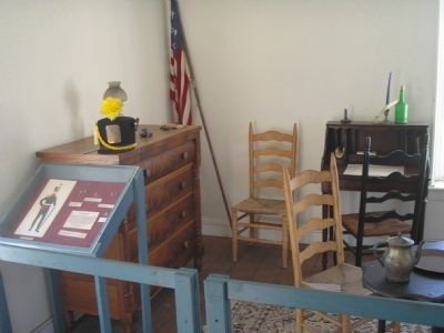 Inside Officers' Quarters image. Click for full size.