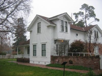 Luther Burbank Home image. Click for full size.