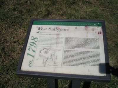 West Sallyport Marker image. Click for full size.