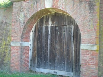 Door to West Sallyport image. Click for full size.