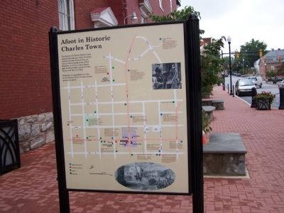 Afoot in Historic Charles Town Marker image. Click for full size.