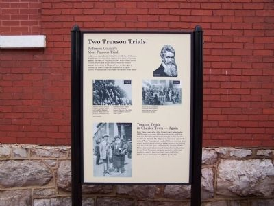 Two Treason Trails Marker image. Click for full size.