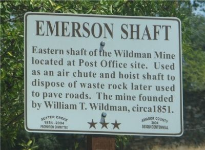 Emerson Shaft Marker image. Click for full size.