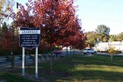 Granville Corporate Limit Marker image. Click for full size.