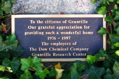 Dow Chemical Company Marker image. Click for full size.