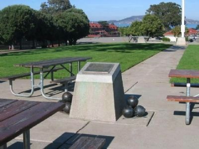 Presidio of San Francisco National Historical Landmark Marker image. Click for full size.