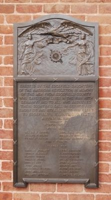 Edgefield County World War I Memorial Marker image. Click for full size.