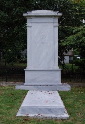 J. Strom Thurmond Tombstone - Willowbrook Cemetery image. Click for full size.
