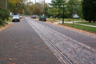 Scioto Valley Interurban Track along Blacklick Street image. Click for full size.