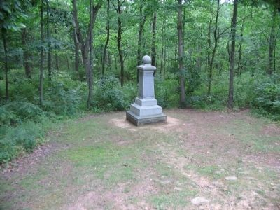 19th Indiana Infantry Regiment Monument image. Click for full size.