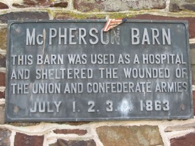 McPherson Barn Marker image. Click for full size.