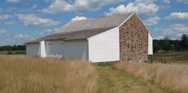 McPherson Barn - West and South Sides image. Click for full size.