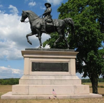 Major General John Fulton Reynolds Monument image. Click for full size.
