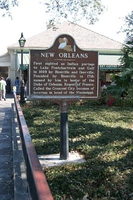 New Orleans Marker image. Click for full size.