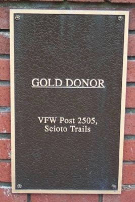 Gold Donor Marker image. Click for full size.