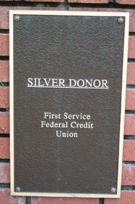 Silver Donor Marker image. Click for full size.