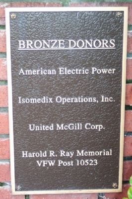 Bronze Donor Marker image. Click for full size.