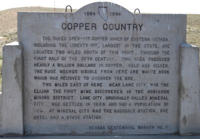 Copper Country Marker image. Click for full size.