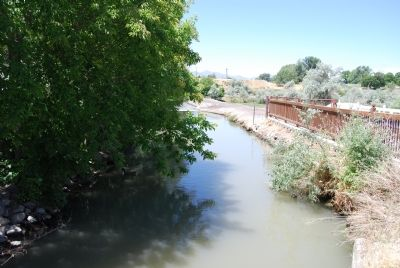 North Jordan Canal image. Click for full size.