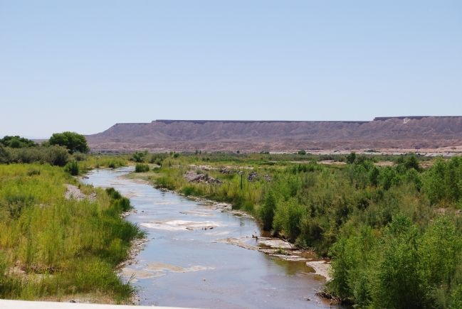 Virgin River at Mesquite image. Click for full size.