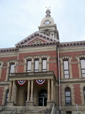 The Wabash County Courthouse image. Click for full size.