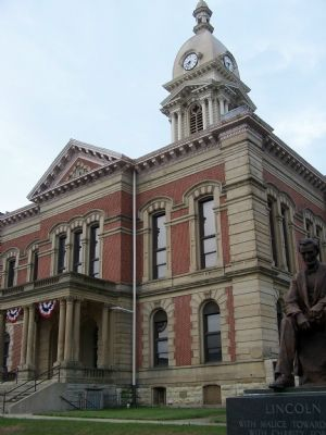Wabash County Courthouse image. Click for full size.