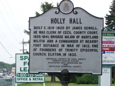 HOLLY HALL Marker image. Click for full size.