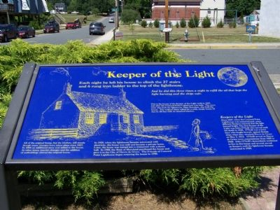 Keeper of the Light Marker image. Click for full size.