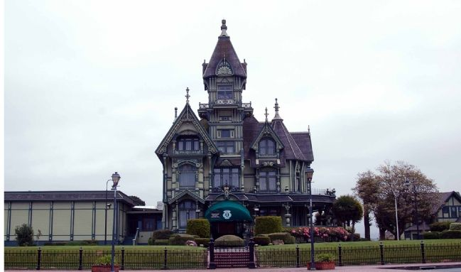 The Carson Mansion / Ingomar Club image. Click for full size.
