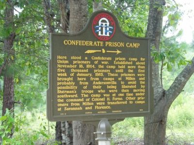 Blackshear Prison Camp Marker image. Click for full size.