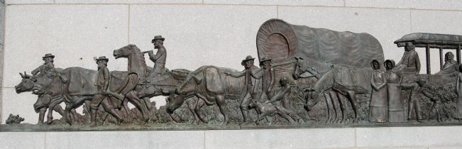 Wagon train detail image. Click for full size.