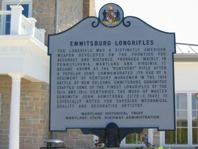Emmitsburg Longrifles Marker image. Click for full size.