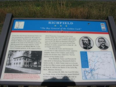 Richfield Marker image. Click for full size.