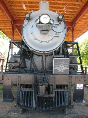 4-6-2 Soo Line Pacific Class H-21 Steam Locomotive 2713 image. Click for full size.