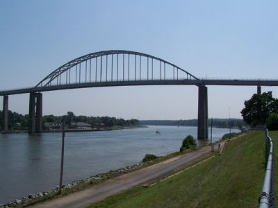 Chesapeake City Bridge over the C & D Canal image. Click for full size.