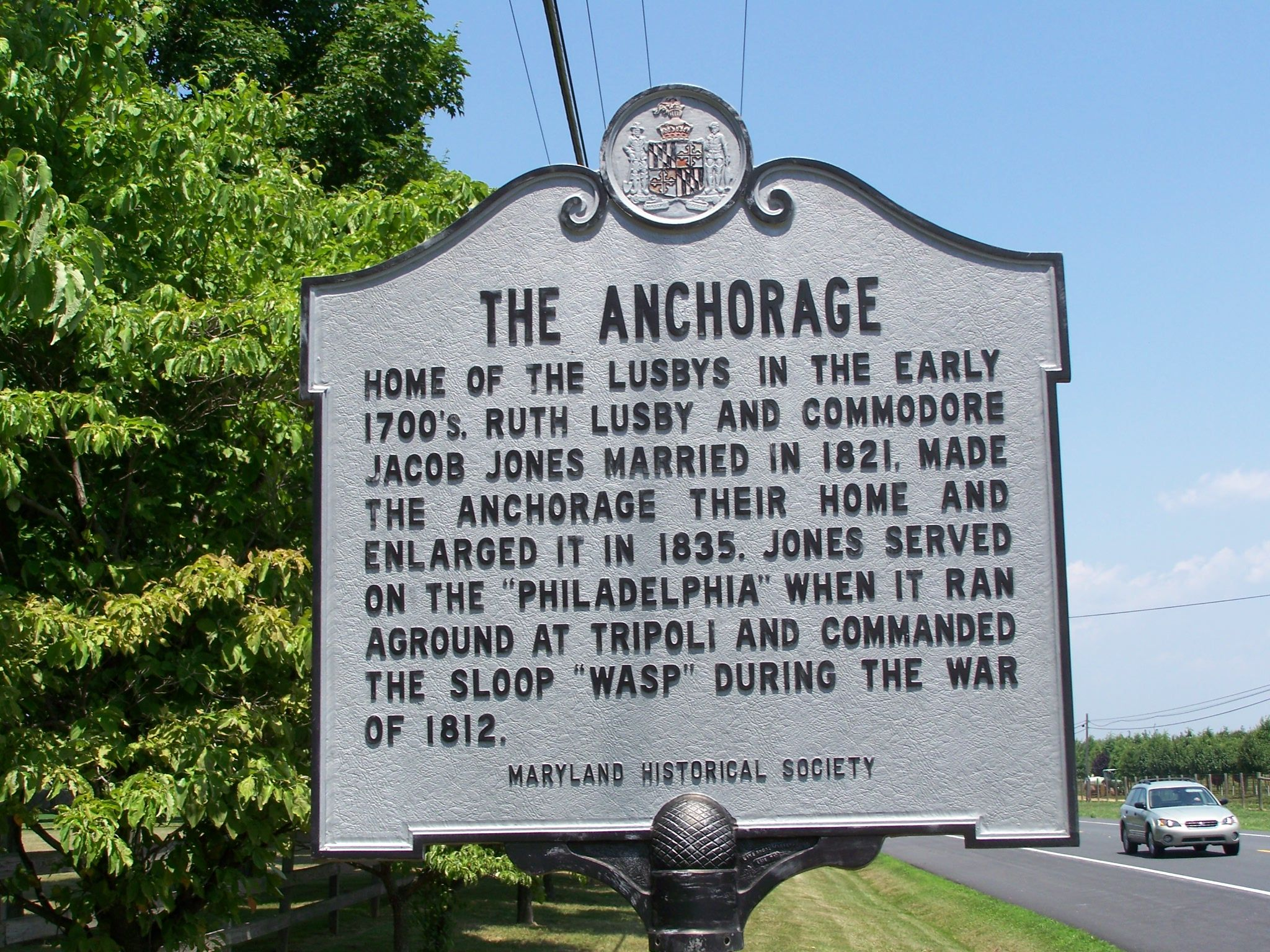The Anchorage Marker