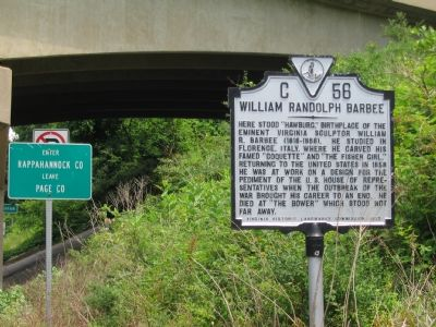 William Randolph Barbee Marker image. Click for full size.