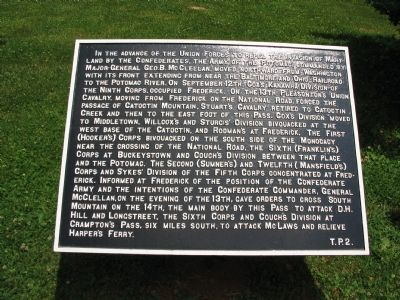 War Department Marker T. P. 2 image. Click for full size.