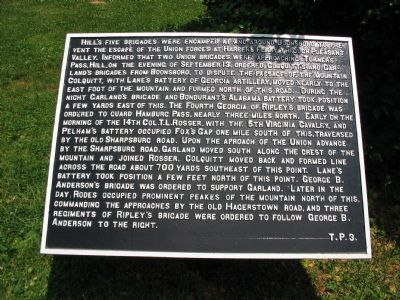 Department Marker T. P. 3 image. Click for full size.