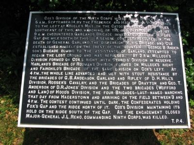 War Department Marker T. P. 4 image. Click for full size.