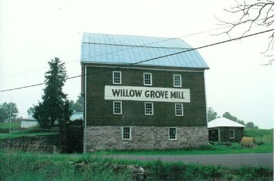 Willow Grove Mill image. Click for full size.