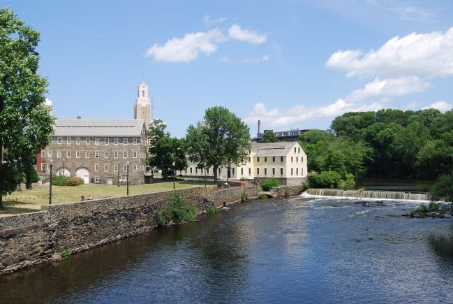 Slater Mill along the Blackstone River image. Click for full size.