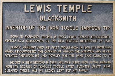 Lewis Temple Marker image. Click for full size.
