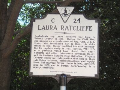 Laura Ratcliffe Marker image. Click for full size.
