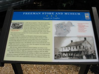 Freeman Store and Museum Marker image. Click for full size.