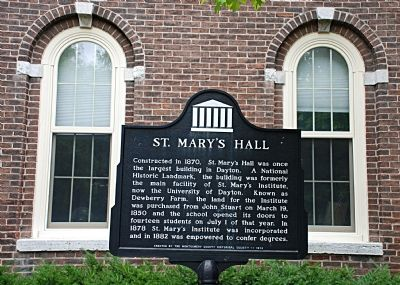 St. Mary's Hall Marker image. Click for full size.